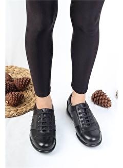 Modabuymus Modabuymus Hakiki Deri Günlük Casual Kadın Ayakkabı - Strong